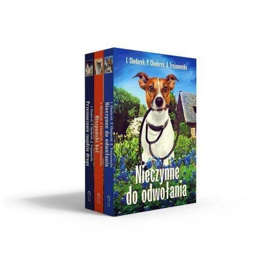 Pakiet. Psy, koty i weterynarz - Chodorek Piotr, Chodorek Iwona, Trojanowska Anula