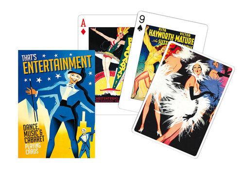 Karty Entertainment 1 talia - brak