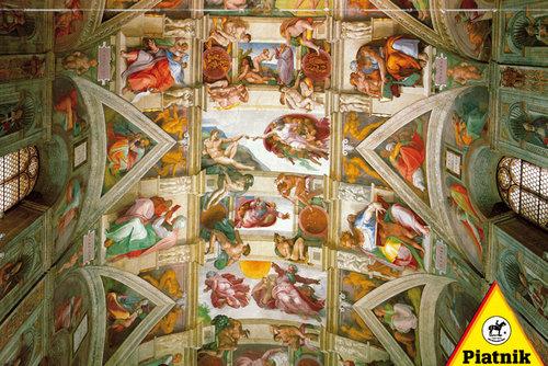 Puzzle Piatnik Michelangelo 1000 - brak