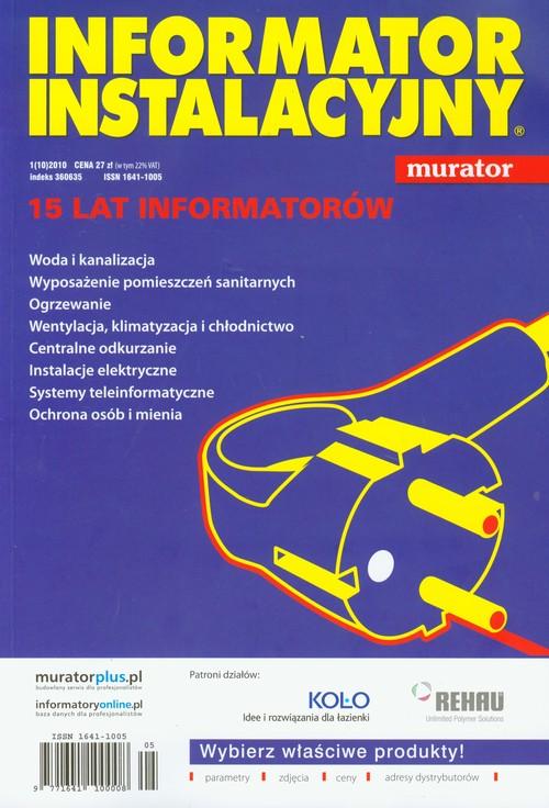 Informator instalacyjny 2010 - brak
