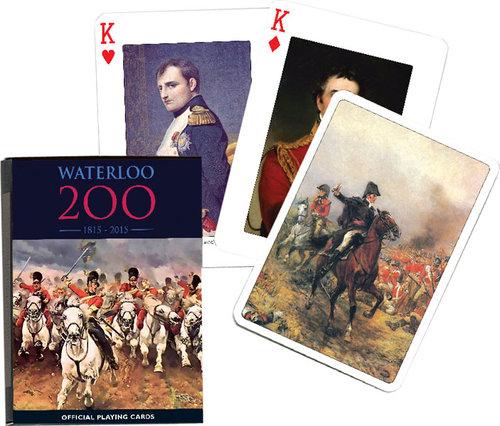 Karty do gry Piatnik 1 talia Waterloo - brak