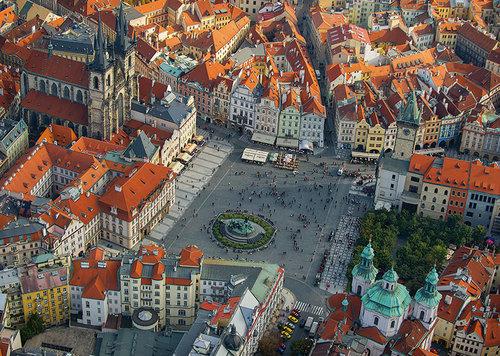 Puzzle Praga 1000 elementów - brak