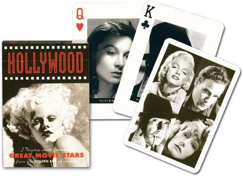 Karty do gry Piatnik 1 talia Hollywood - Piatnik