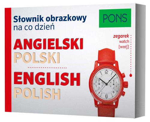 Słownik obrazkowy na co dzień. Angielski PONS - brak