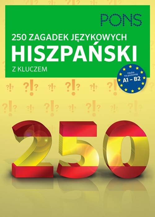 250 zagadek językowych. Hiszpański PONS - brak