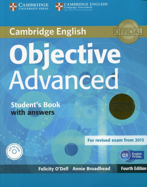 Objective Advanced Student's Book with answers - brak