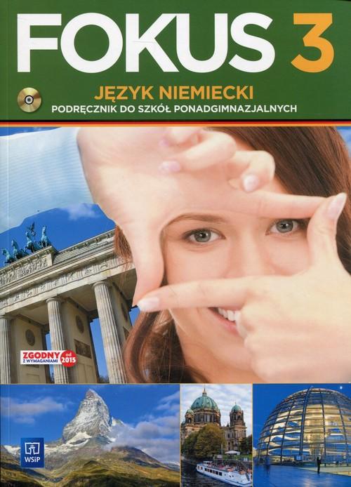Fokus j. niem. podr PG ZP cz.3 + CD w.2016 WSiP - Kryczyńska-Pham Anna