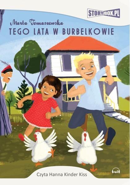 Tego lata w Burbelkowie audiobook - Marta Tomaszewska