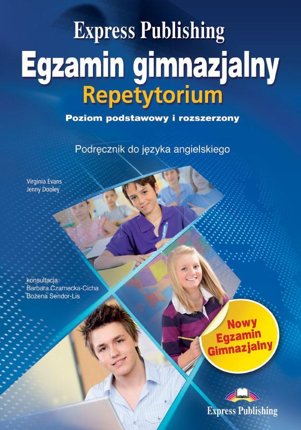 Egzamin gimnazjalny repetyt. ZP+R EXP PUBLISHING - Virginia Evans, Jenny Dooley