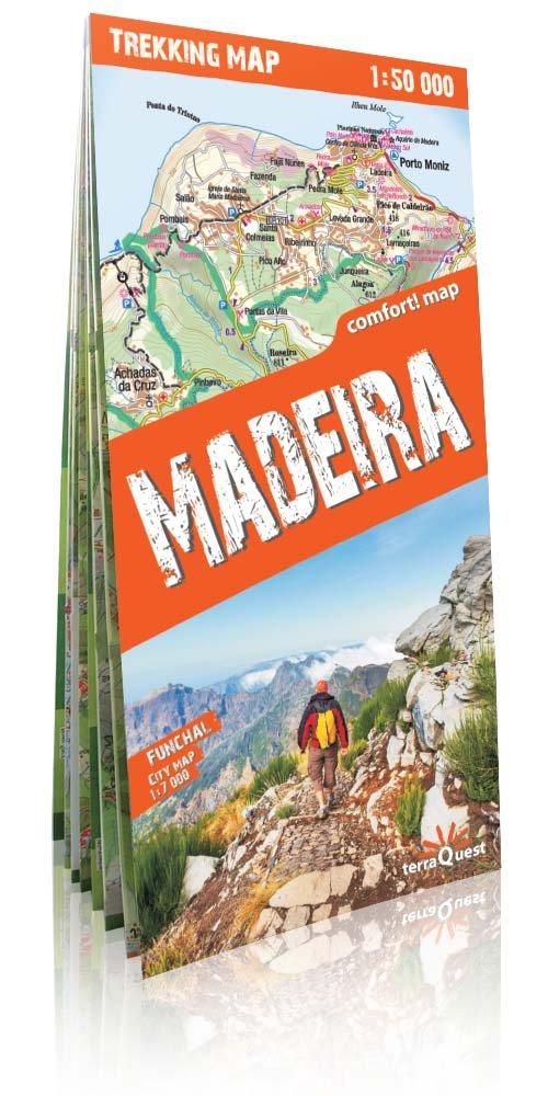 Trekking map Madera 1:50 000 mapa - brak