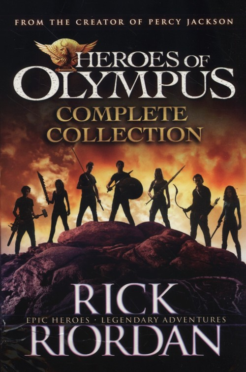 Heroes of Olympus Complette Collection - Riordan Rick