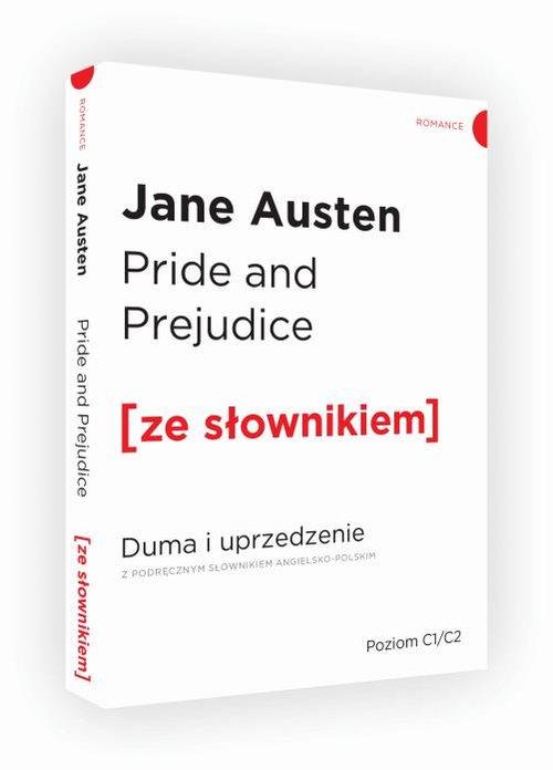 PRIDE AND PREJUDICE DUMA I UPRZEDZENIE ZE SŁOWNIKIEM - Austen Jane