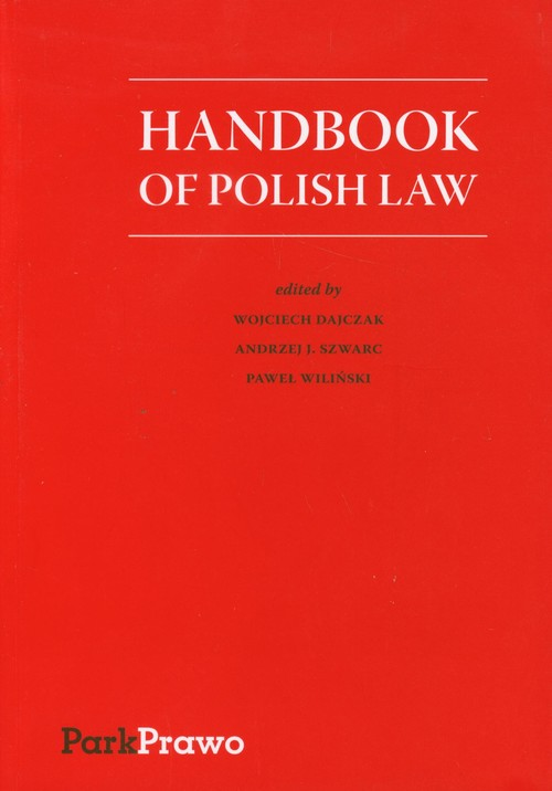 Handbook of Polish Law - brak