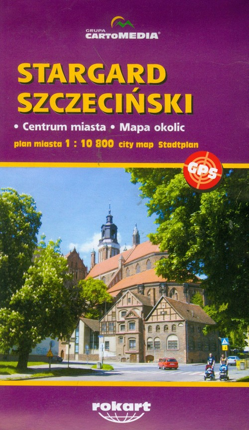 Stargard Szczeciński plan miasta 1:10 800 - brak