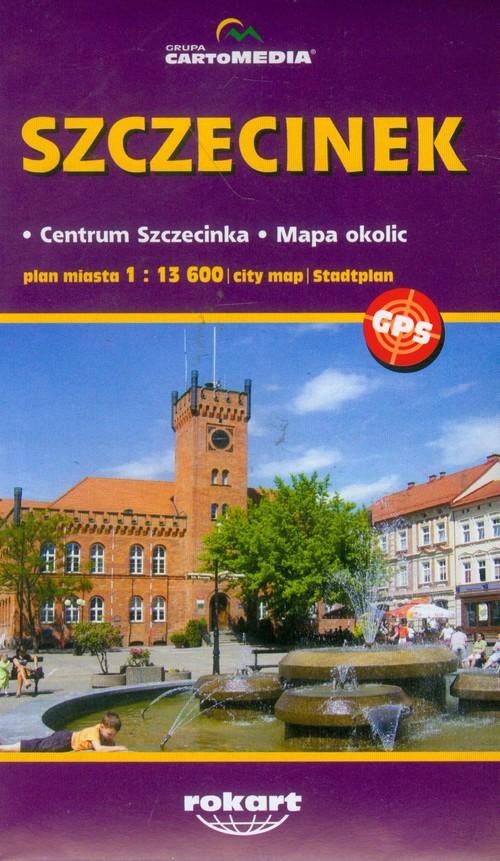 Szczecinek plan miasta - brak