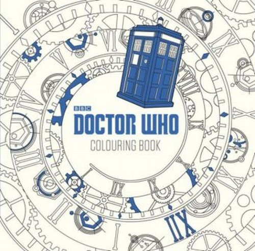 Doctor Who The Colouring Book - Gray James Newman, Chew Lee Teng
