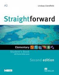 Straightforward 2nd ed. A2 Elementary SB + eBook - Philip Kerr, Lindsay Clandfield, Ceri Jones, Jim Scrivener, Roy Norris