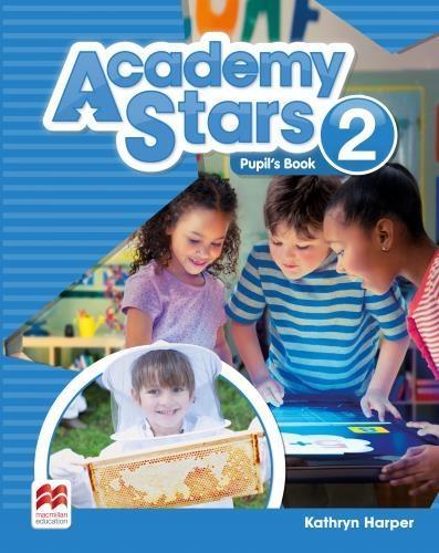 Academy Stars 2 PB + kod online MACMILLAN - Kathryn Harper