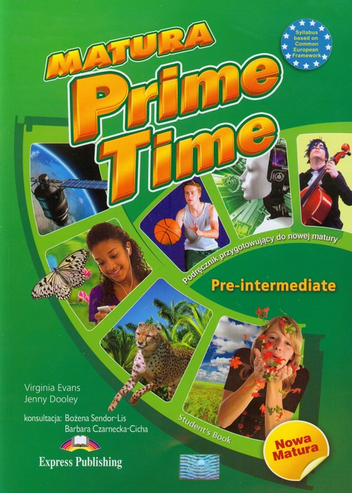 Matura Prime Time Pre-intermediate SB - Evans Virginia, Dooley Jenny