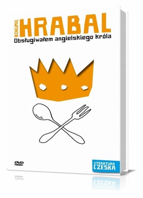 OBSŁUGIWAŁEM ANGIELSKIEGO KRÓLA LITERATURA CZESKA + DVD - Hrabal Bohumil