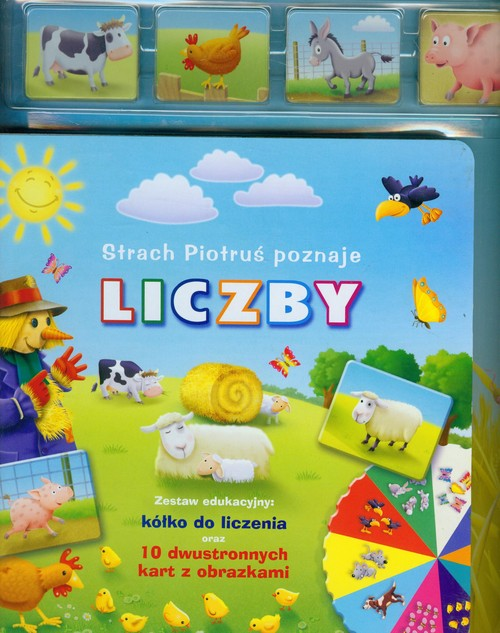 Strach Piotruś poznaje liczby - Kozłowska Urszula