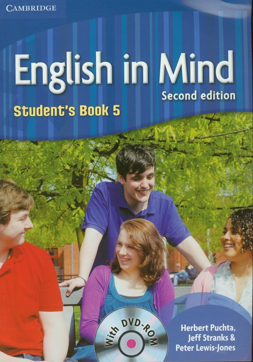 English In Mind 5 SB 2nd Edition CAMBRIDGE - Puchta Herbert, Stranks Jeff, Lewis-Jones Peter