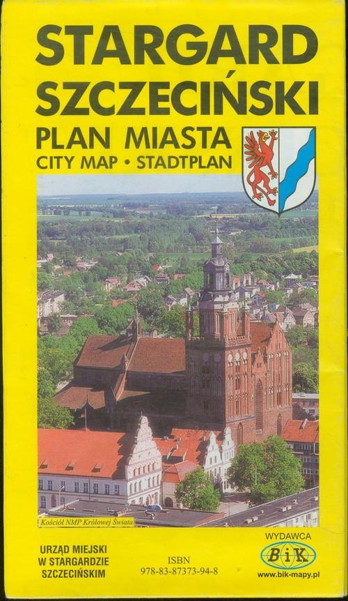 Stargard Szczeciński plan miasta - brak
