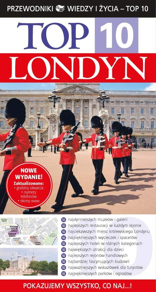 Londyn Top 10 Przewodnik - brak
