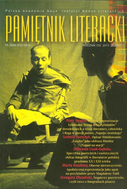 Pamiętnik literacki 1/2013 - brak