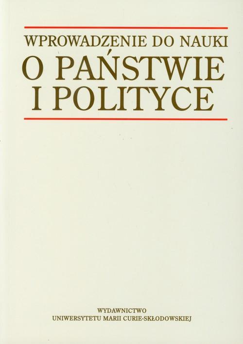 Wprowadzenie do nauki o państwie i polityce - brak