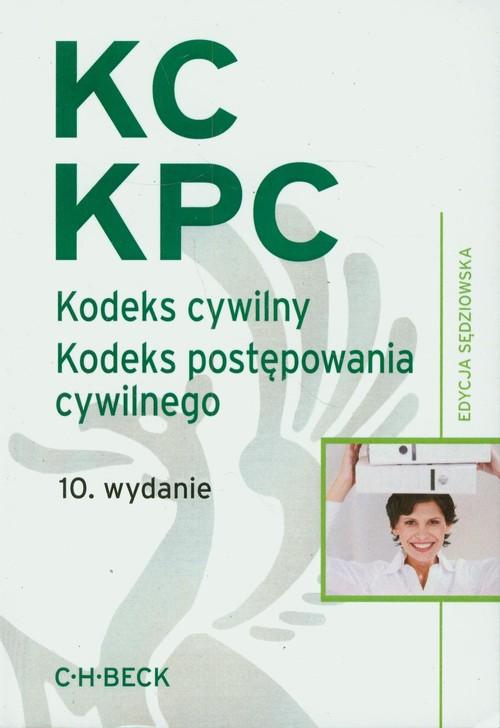 Kodeks cywilny Kodeks postępowania cywilnego edycja sędziowska - Flisek Aneta