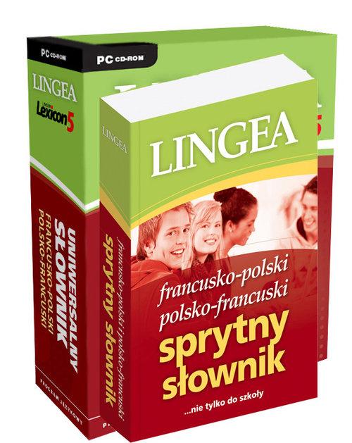 Francusko-polski polsko-francuski Sprytny słownik z Lexiconem na CD - brak