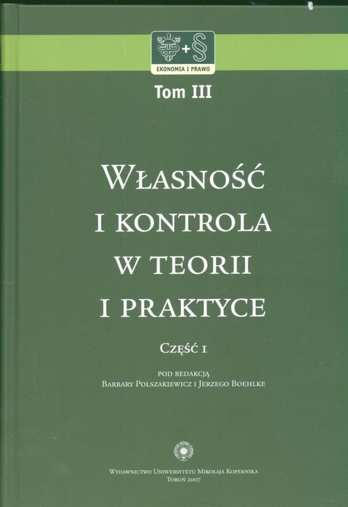 Własność i kontrola w teorii i praktyce 2 - brak