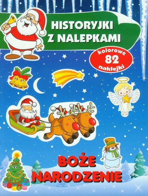 Boże Narodzenie. Historyjki z nalepkami - Wiśniewska Anna