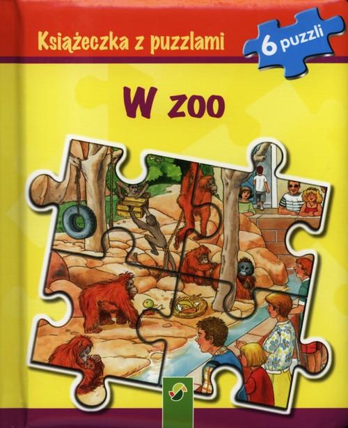 Książeczka z puzzlami W zoo - brak
