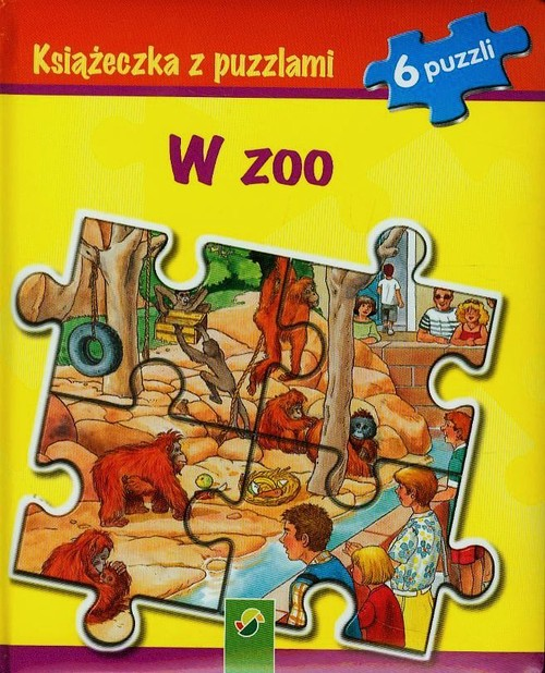 Książeczka z puzzlami - W zoo - brak