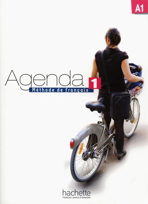 Agenda 1 podręcznik+DVD-ROM HACHETTE - Baglieto David, Girardeau Bruno, Mistichelli Marion