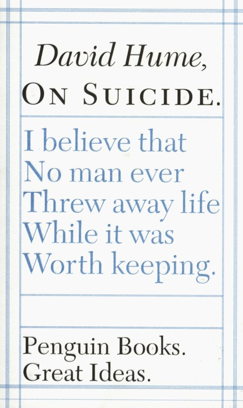 On Suicide - Hume David