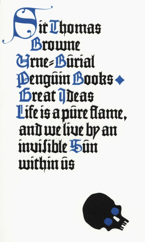 Urne-Burial - Browne Thomas